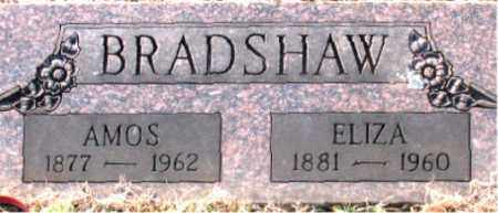 BRADSHAW, ELIZA - Carroll County, Arkansas | ELIZA BRADSHAW - Arkansas Gravestone Photos