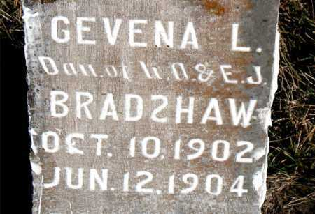 BRADSHAW, GEVENA L. - Carroll County, Arkansas | GEVENA L. BRADSHAW - Arkansas Gravestone Photos