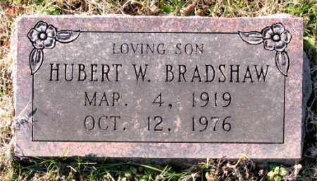 BRADSHAW, HUBERT  W. - Carroll County, Arkansas | HUBERT  W. BRADSHAW - Arkansas Gravestone Photos