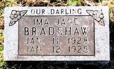 BRADSHAW, IMA  JANE - Carroll County, Arkansas | IMA  JANE BRADSHAW - Arkansas Gravestone Photos