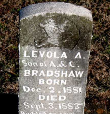 BRADSHAW, LEVOLA A. - Carroll County, Arkansas | LEVOLA A. BRADSHAW - Arkansas Gravestone Photos