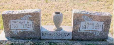 BRADSHAW, THOMAS M. - Carroll County, Arkansas | THOMAS M. BRADSHAW - Arkansas Gravestone Photos