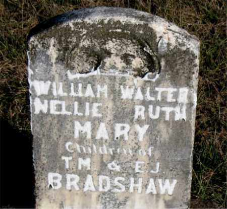 BRADSHAW, NELLIE  RUTH - Carroll County, Arkansas | NELLIE  RUTH BRADSHAW - Arkansas Gravestone Photos