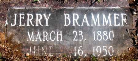 BRAMMER, JERRY - Carroll County, Arkansas | JERRY BRAMMER - Arkansas Gravestone Photos