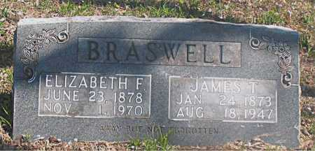 BRASWELL, JAMES T. - Carroll County, Arkansas | JAMES T. BRASWELL - Arkansas Gravestone Photos