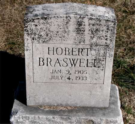 BRASWELL, HOBERT - Carroll County, Arkansas | HOBERT BRASWELL - Arkansas Gravestone Photos