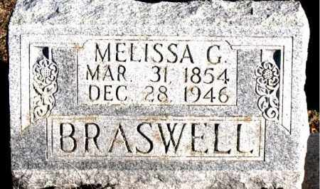 BRASWELL, MELISSA  G. - Carroll County, Arkansas | MELISSA  G. BRASWELL - Arkansas Gravestone Photos