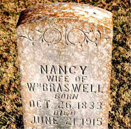 BRASWELL, NANCY - Carroll County, Arkansas | NANCY BRASWELL - Arkansas Gravestone Photos