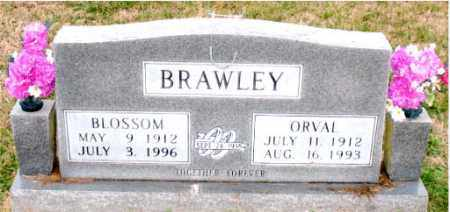 BRAWLEY, BLOSSOM - Carroll County, Arkansas | BLOSSOM BRAWLEY - Arkansas Gravestone Photos