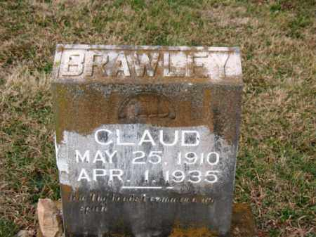BRAWLEY, CLAUD - Carroll County, Arkansas | CLAUD BRAWLEY - Arkansas Gravestone Photos