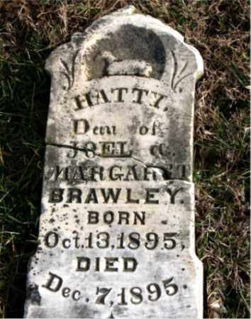 BRAWLEY, HATTY - Carroll County, Arkansas | HATTY BRAWLEY - Arkansas Gravestone Photos