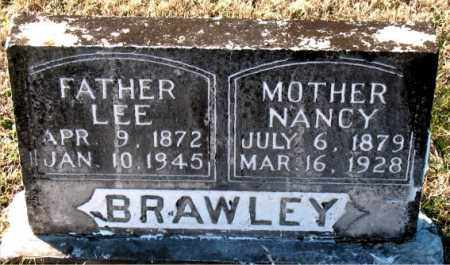 BRAWLEY, NANCY - Carroll County, Arkansas | NANCY BRAWLEY - Arkansas Gravestone Photos
