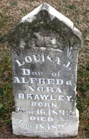 BRAWLEY, LOUISA  J. - Carroll County, Arkansas | LOUISA  J. BRAWLEY - Arkansas Gravestone Photos