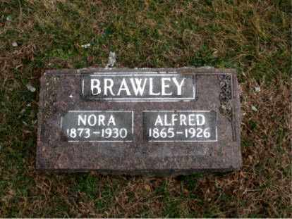 BRAWLEY, NORA - Carroll County, Arkansas | NORA BRAWLEY - Arkansas Gravestone Photos