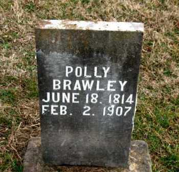 BRAWLEY, POLLY - Carroll County, Arkansas | POLLY BRAWLEY - Arkansas Gravestone Photos