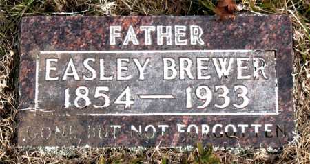 BREWER, EASLEY - Carroll County, Arkansas | EASLEY BREWER - Arkansas Gravestone Photos