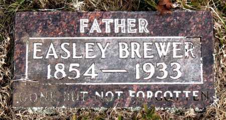BREWER, EASLEY - Carroll County, Arkansas | EASLEY BREWER - Arkansas Gravestone Photos