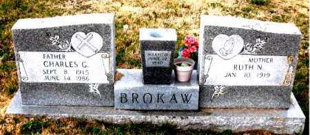 BROKAW, CHARLES G. - Carroll County, Arkansas | CHARLES G. BROKAW - Arkansas Gravestone Photos