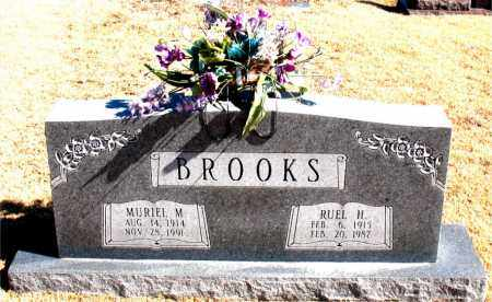 BROOKS, RUEL  H. - Carroll County, Arkansas | RUEL  H. BROOKS - Arkansas Gravestone Photos