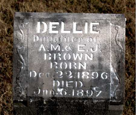 BROWN, DELLIE - Carroll County, Arkansas | DELLIE BROWN - Arkansas Gravestone Photos