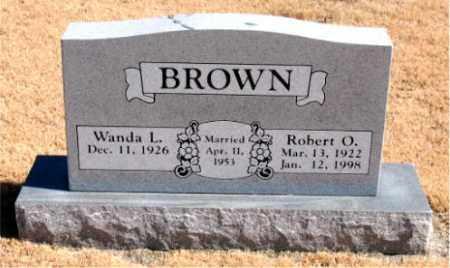 BROWN, ROBERT  O. - Carroll County, Arkansas | ROBERT  O. BROWN - Arkansas Gravestone Photos