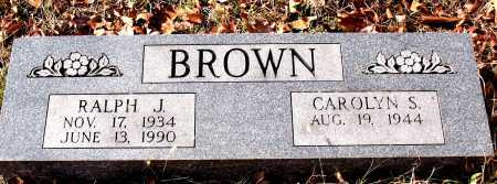 BROWN, RALPH J. - Carroll County, Arkansas | RALPH J. BROWN - Arkansas Gravestone Photos