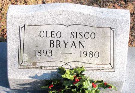 BRYAN, CLEO SISCO - Carroll County, Arkansas | CLEO SISCO BRYAN - Arkansas Gravestone Photos