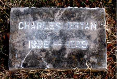 BRYAN, CHARLES - Carroll County, Arkansas | CHARLES BRYAN - Arkansas Gravestone Photos