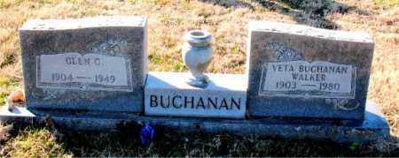 WALKER BUCHANAN, VETA - Carroll County, Arkansas | VETA WALKER BUCHANAN - Arkansas Gravestone Photos