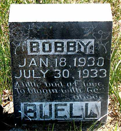 BUELL, BOBBY - Carroll County, Arkansas | BOBBY BUELL - Arkansas Gravestone Photos