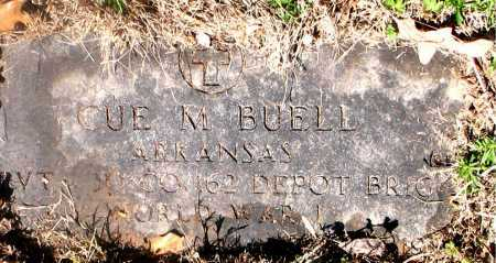 BUELL (VETERAN WWI), CUE MCKINLEY - Carroll County, Arkansas | CUE MCKINLEY BUELL (VETERAN WWI) - Arkansas Gravestone Photos