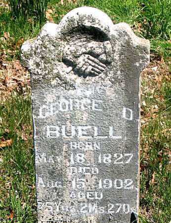BUELL, GEORGE DUBLEVY - Carroll County, Arkansas | GEORGE DUBLEVY BUELL - Arkansas Gravestone Photos