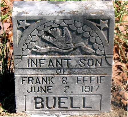 BUELL, INFANT SON - Carroll County, Arkansas | INFANT SON BUELL - Arkansas Gravestone Photos