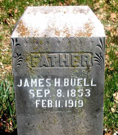 BUELL, JAMES H. - Carroll County, Arkansas | JAMES H. BUELL - Arkansas Gravestone Photos