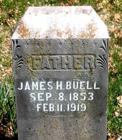 BUELL, JAMES H. - Carroll County, Arkansas | JAMES H. BUELL - Arkansas Gravestone Photos