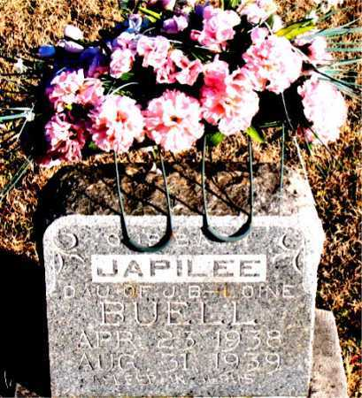 BUELL, JAPILEE - Carroll County, Arkansas | JAPILEE BUELL - Arkansas Gravestone Photos