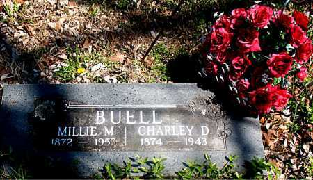 BUELL, CHARLEY D - Carroll County, Arkansas | CHARLEY D BUELL - Arkansas Gravestone Photos