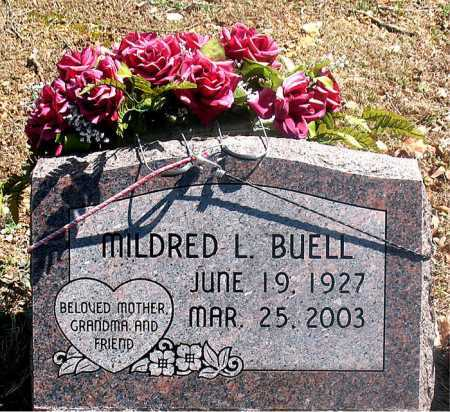 BUELL, MILDRED L. - Carroll County, Arkansas | MILDRED L. BUELL - Arkansas Gravestone Photos