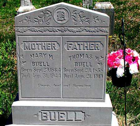 BUELL, THOMAS M . - Carroll County, Arkansas | THOMAS M . BUELL - Arkansas Gravestone Photos