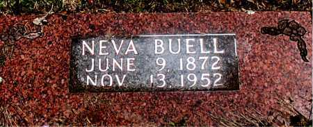 BUELL, NEVA - Carroll County, Arkansas | NEVA BUELL - Arkansas Gravestone Photos