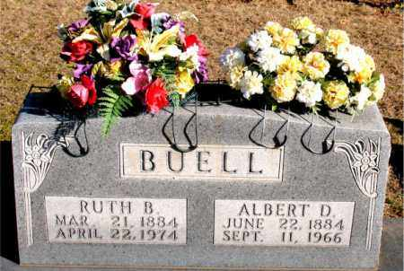 BUELL, ALBERT D - Carroll County, Arkansas | ALBERT D BUELL - Arkansas Gravestone Photos