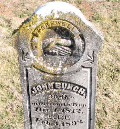 BUNCH, JOHN - Carroll County, Arkansas | JOHN BUNCH - Arkansas Gravestone Photos