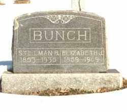 BUNCH, STILLMAN BRADLEY - Carroll County, Arkansas | STILLMAN BRADLEY BUNCH - Arkansas Gravestone Photos
