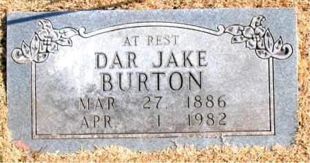BURTON, DAR JAKE - Carroll County, Arkansas | DAR JAKE BURTON - Arkansas Gravestone Photos