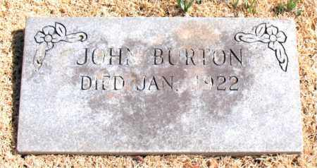 BURTON, JOHN - Carroll County, Arkansas | JOHN BURTON - Arkansas Gravestone Photos