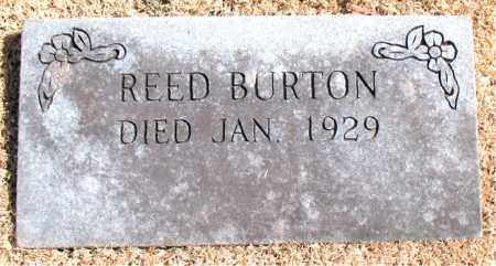 BURTON, REED - Carroll County, Arkansas | REED BURTON - Arkansas Gravestone Photos