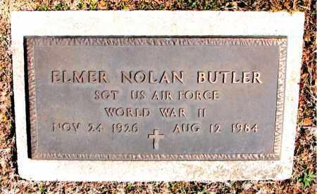 BUTLER (VETERAN WWII), ELMER NOLAN - Carroll County, Arkansas   ELMER NOLAN BUTLER (VETERAN WWII) - Arkansas Gravestone Photos