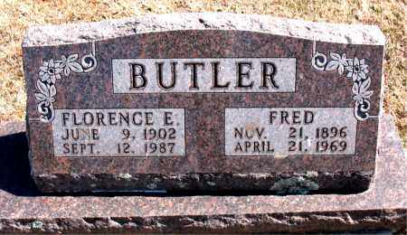 BUTLER, FLORENCE E. - Carroll County, Arkansas | FLORENCE E. BUTLER - Arkansas Gravestone Photos