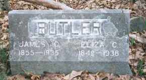 BUTLER, ELIZA CATHERINE - Carroll County, Arkansas | ELIZA CATHERINE BUTLER - Arkansas Gravestone Photos