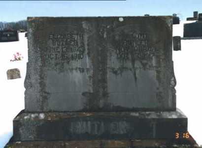 BUTLER, ELIZABETH THEODORE - Carroll County, Arkansas | ELIZABETH THEODORE BUTLER - Arkansas Gravestone Photos